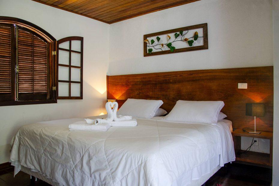 cama dos chalés com hidro