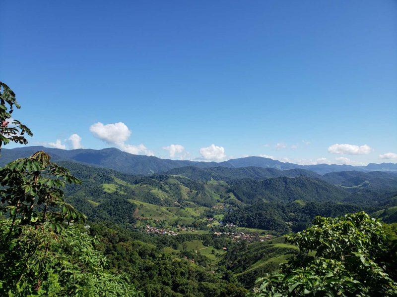 vista aérea de Visconde de Mauá